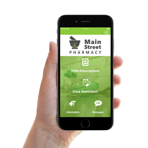 Main Street Mobile Applications float template
