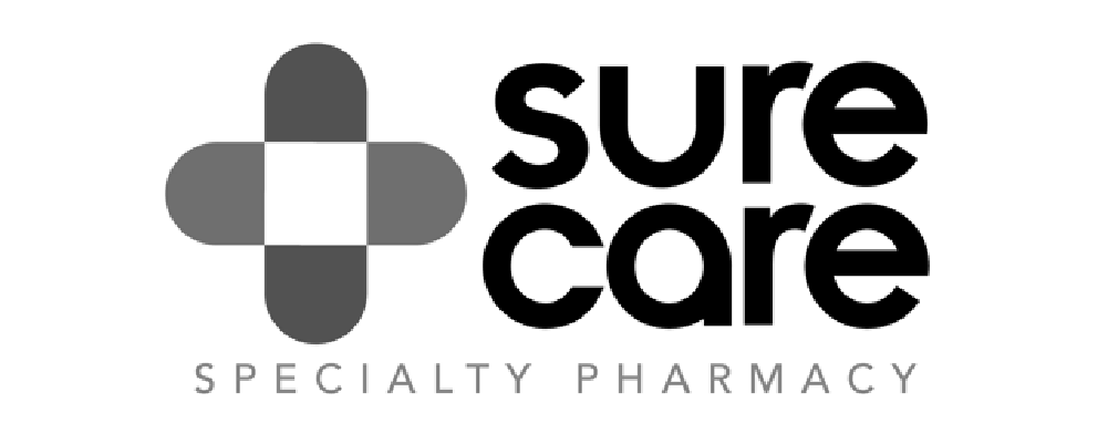 sure care pharmacy Logo